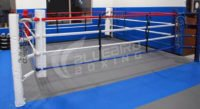 fixed floor boxing ring